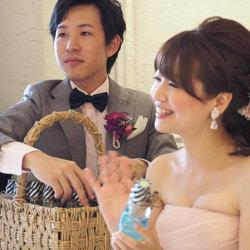 結婚式のプチギフトに選ばれたフルーラ