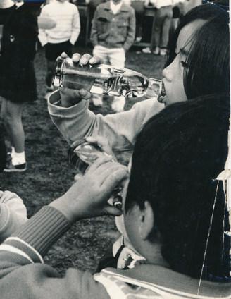 昔の炭酸飲料のイメージ