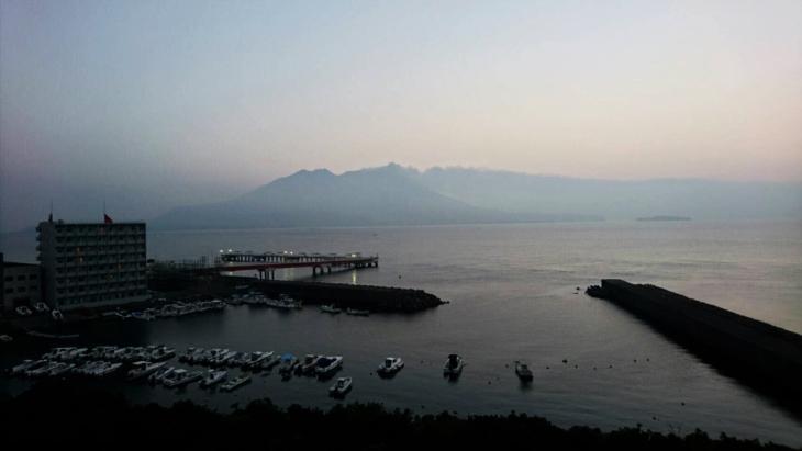 錦江湾写真
