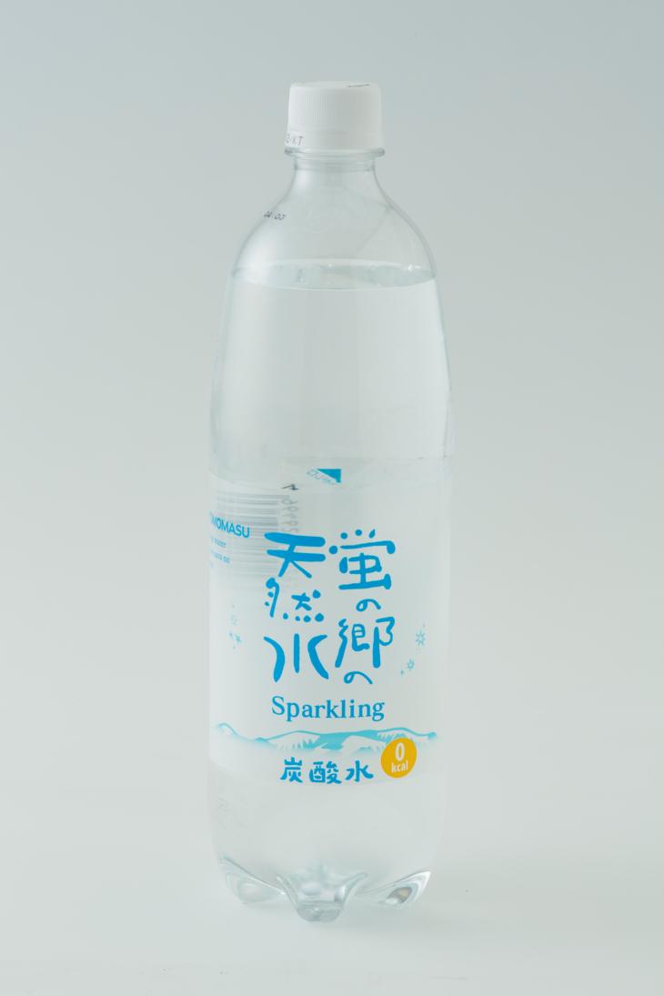 蛍の郷の天然水スパークリング1l