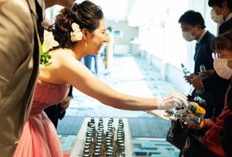 結婚式のプチギフトにぴったりのフルーラ