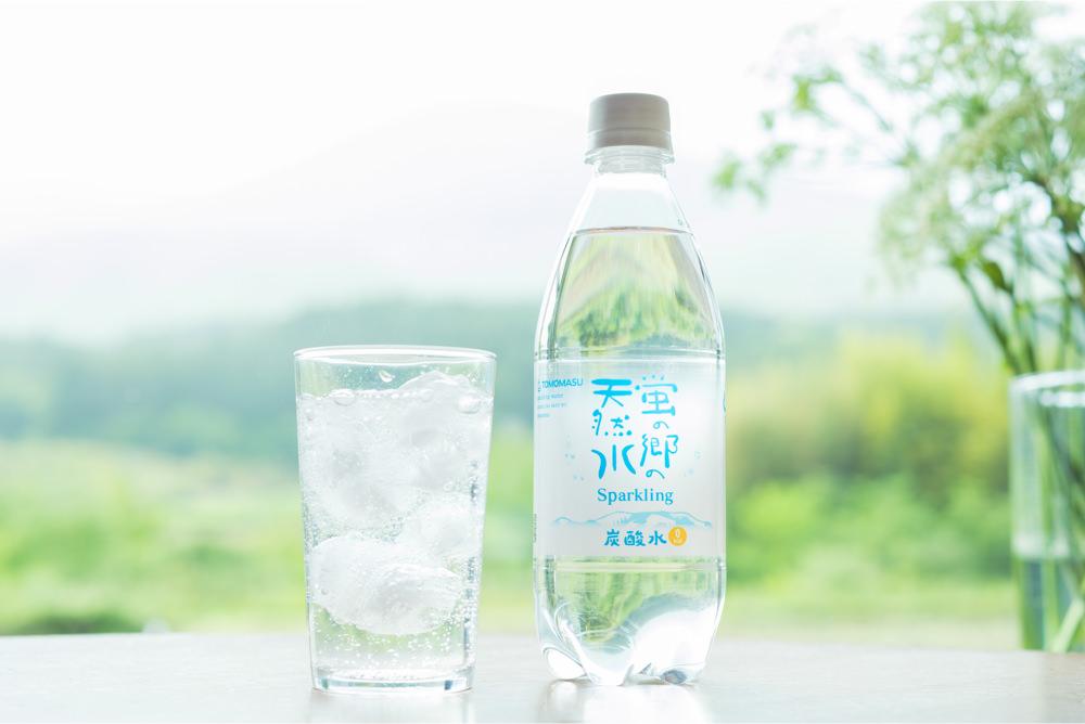 蛍の郷の天然水